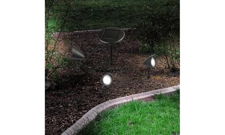 Intellibrands Lighting Solar Cell LED Spotlight (3-Piece)