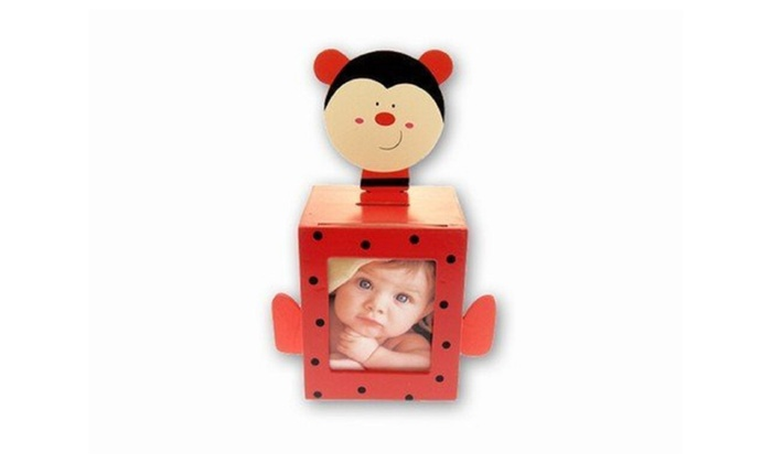 Up To 35 Off On Ladybug Bank With Picture Frame Groupon Goods