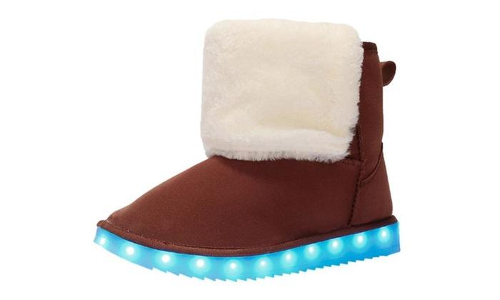 Women's Faux Fur Casual Simple Snow Boots
