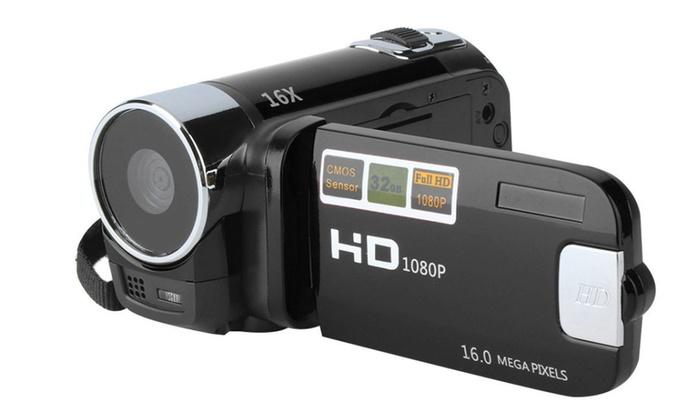 "Camera DV FullHD 1080P 16MP Digital Camcorder DVR 2.7"" LCD 16x Zoom"