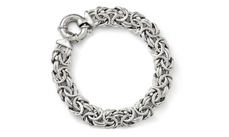 Italian Sterling Silver Fancy Link Bracelet - 7.5 inches 98e0bdef-bfa7-422d-ac01-ffb98254e0c7