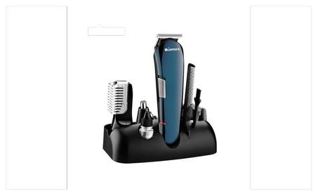 Beard Electric trimmer kit Nose Hair Men's Grooming Kit Set c7300025-9776-46b0-99e3-4d5723925fc6