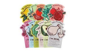 TonyMoly Im Real Sheet Mask 11Pk at AmazingForLess, plus 6.0% Cash Back from Ebates.