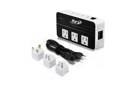 Key Power 200-Watt Step Down 220V to 110V Travel Voltage Converter photo