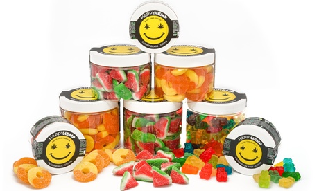 Night-time CBD Gummies from Happy Hemp (250mg-1500mg)