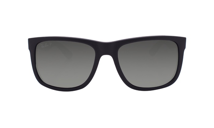 Ray Ban Justin Rb4165 622 T3 54 Black Polarized Grey Gradient