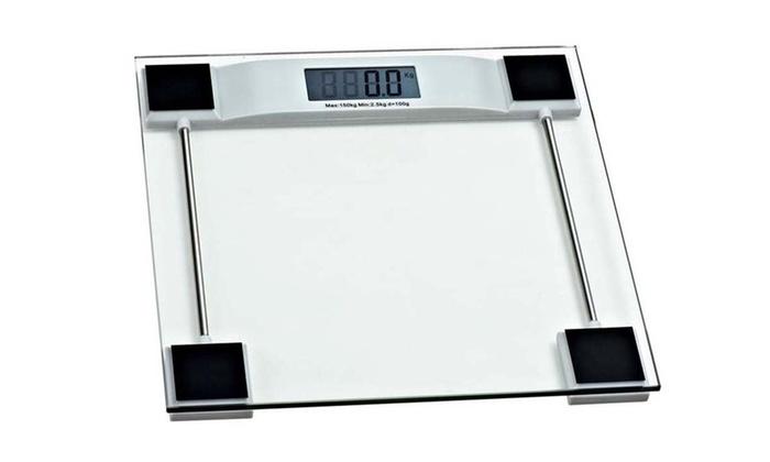 Digital Gl Bathroom Weight Scale