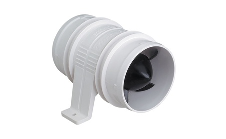 Attwood Turbo 3000 Series In-Line Blower - 12V - White photo