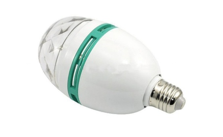 Colorful Rotating LED Light Bulb, (10 Pack) eb1aca26-bdcf-4c2d-821d-83b8bd1e764a