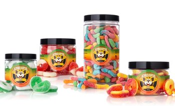 Organic CBD Gummies from Kangaroo CBD (250, 500, 750, 1000, or 2000mg)