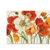 Lisa Audit 'Poppies Melody I' Canvas Art
