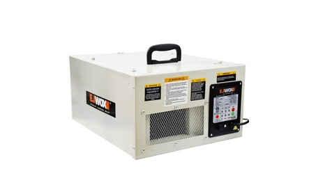 Air Filtration System 3-Speed Remote-Controlled Filter Dust Shop