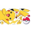 Roommates Pokemon Pikachu Giant Wall Decals
