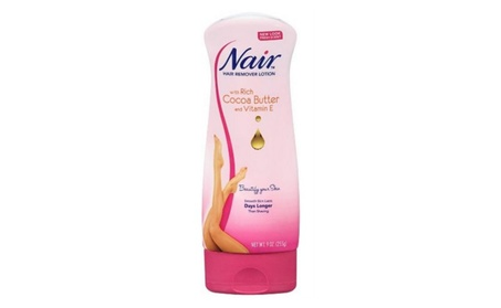 Nair Hair Remover Lotion For Legs - Body Cocoa Butter Vitamin E 9 oz 9debcf18-dae0-44a7-a267-ededad40fbbe