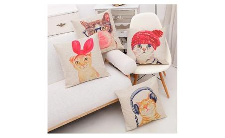 Cute Lovely Cat Decorative Pillow Case e1be8d60-10d7-40cc-9b58-e6da4eb249f3