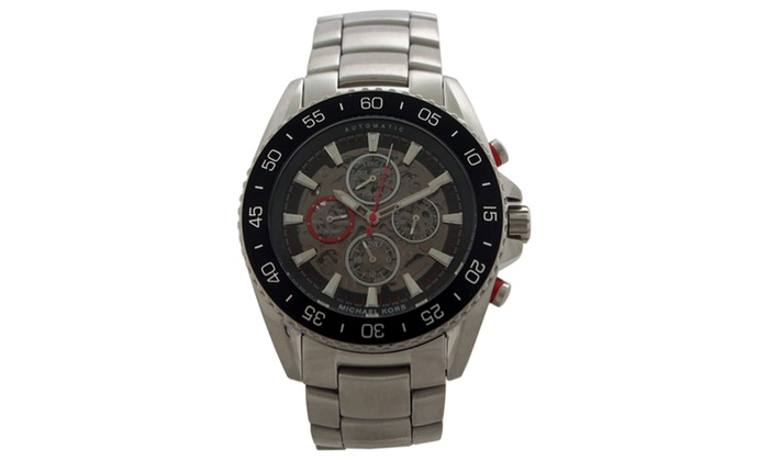 Michael kors mk9011 automatic chronograph jetmaster for Michaels craft store watches