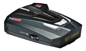 Cobra XRS9570 Voice Alert 14 Band Radar Laser Detector Data Display Refurbished