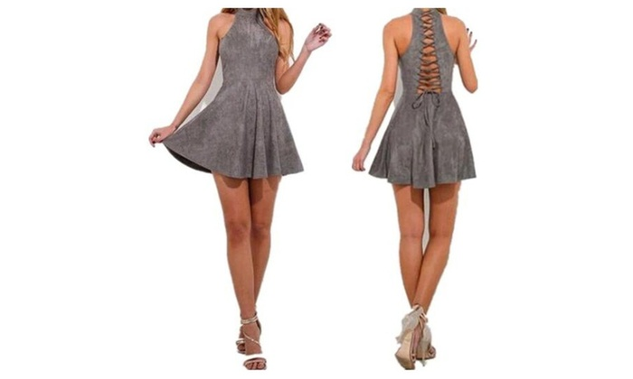 Woman Clothing Sexy Slimming Sling Dresses