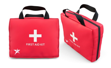 5Star Complete First Aid Kit Medical Emergency Survival Bag 102 Pieces