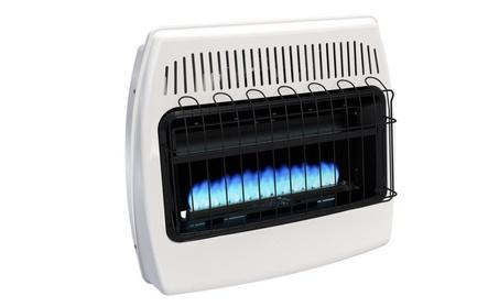 Indoor Wall Heater Liquid Propane Blue Flame Vent Free 30,000 BTU cb56fee9-f0c0-42dc-8d9b-953d91614fdc