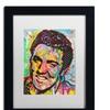 Dean Russo 'Elvis' Matted Black Framed Art