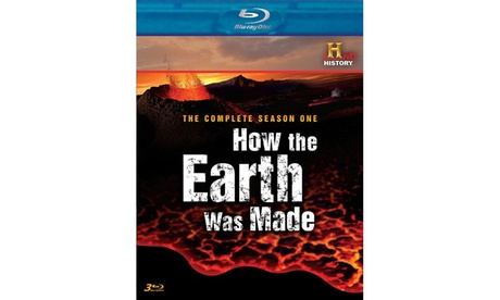 How The Earth Was Made: The Complete Season 1 (Blu-ray) 6fa93168-7fa5-4dc1-9301-d974525fb99f