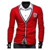 Men's Buttons Up Fashion Solid Slim Fit Casual Cardigan