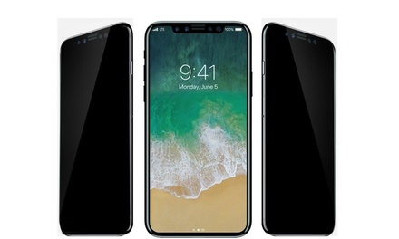 Waloo Tempered-Glass and Privacy Screen Protectors for iPhone X