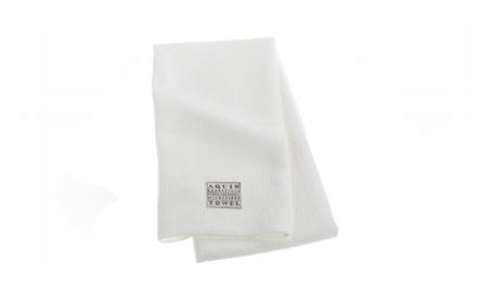 Aquis Microfiber Hair Towel, Lisse Crepe, White (19 x 39-Inches) 217d9d96-ac40-48d7-8170-ca6a9821eb41