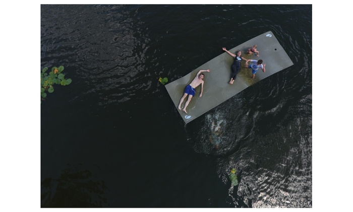 Lake Float Foam Water Mat Groupon