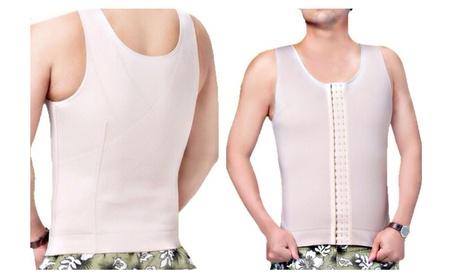Men's High-Compression Waistcoat Body Shaper - (Size S - 5XL)