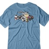 BSW Men's Back to the Future Charlie Brown Snoopy Shirt