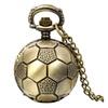 Vintage Football Pocket Watch Pendant Unisex Necklace