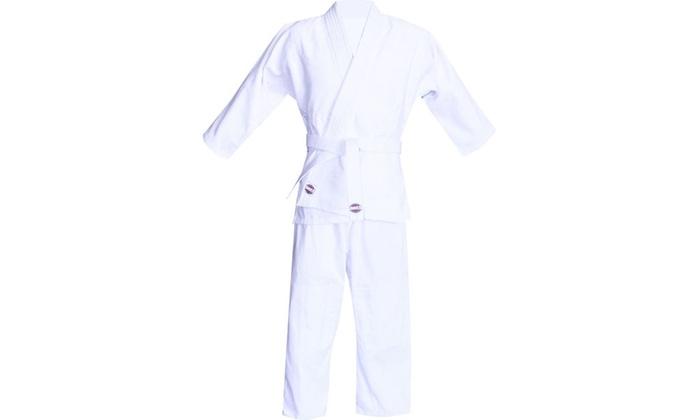 8oz White Karate Uniforms