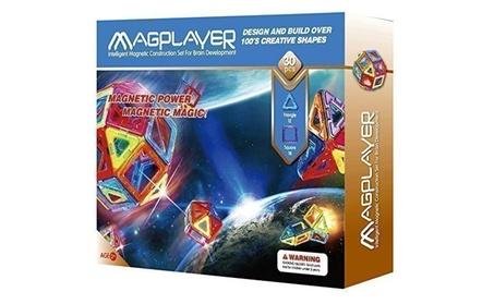 Intelligent magnetic tile construction magplayer blocks toys 30 pcs b08e544e-18b3-4005-99d2-1483dc3a4db0
