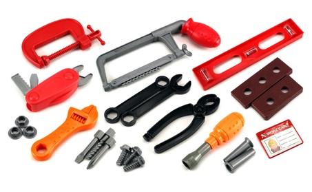 GT Construction Works Children's Pretend Play Toy Work Shop Tool Set 27073401-270e-4e05-b796-0e91846fd09d