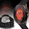 Force One Grand Prix Chronograph Mens Watch Black/Red