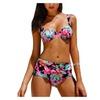 Women's Printing Chinoiserie Bikini Sets