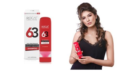 REKZE 63 Hair Growth Shampoo & Anti-Hair Loss Clinically Proven 6.8 FL cea5aa3a-e935-4038-9b7b-bf954d7077ad