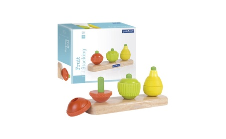 Guidecraft Kids Play Fruit Stacking 8ef21ddd-e3fb-4fe3-a122-868acc575db9