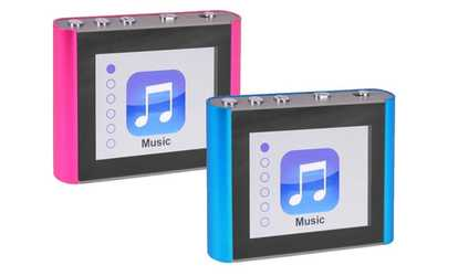 """Shop Groupon Eclipse Fit Clip Plus 8GB 1.8"""" LCD MP3 Digital Music Video Player"""