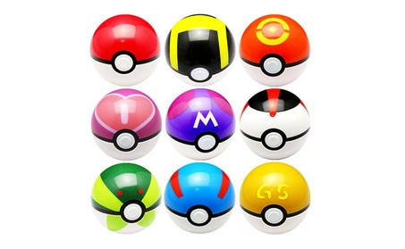 9 Pokemon Ball set pikachu Pokeball Cosplay Pop-up Pokemon Gift 931c5a07-be3c-4c58-8b17-814b523d8f18