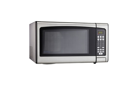 Danby 1.1 Cu. Ft. 1000-Watt 10 Power Levels Stainless Steel Microwave photo