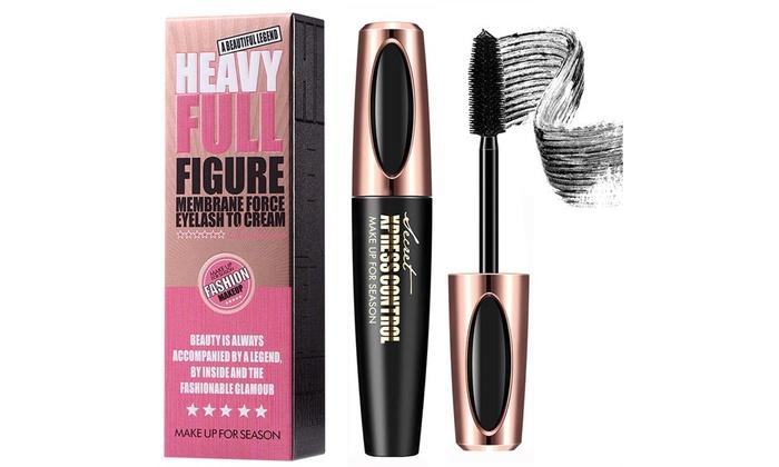0814c1541cb 4D Silk Fiber Eyelash Mascara Extension Makeup Black Waterproof Eye Lashes
