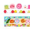 Children Educational Animal Clock Table Beaded Wear Threading Toys