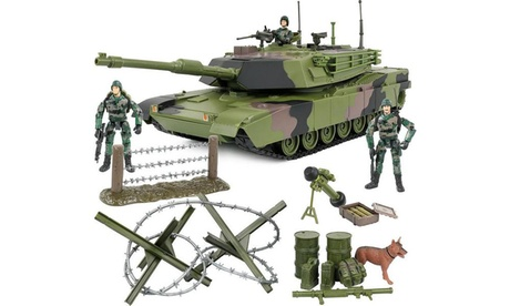 Click N Play Military Armored Assault Tank 27 Piece Play Set 6a91f9a9-4fdb-4c3d-99d1-d6fa47b81e95