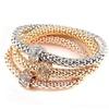 Rhinestone Gold Silver Bracelet Elegant Charm Geometry Shape Jewelry
