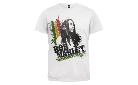 UESEU Bob Marley - Positive Vibration T-Shirt b32323c2-5053-436b-9204-14d600c378e6