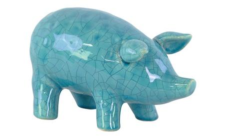 Urban Trends Collection Home Decor Ceramic Standing Pig Figurine 91e9a410-9d26-42c9-bb4e-6e9c9d68a6f1
