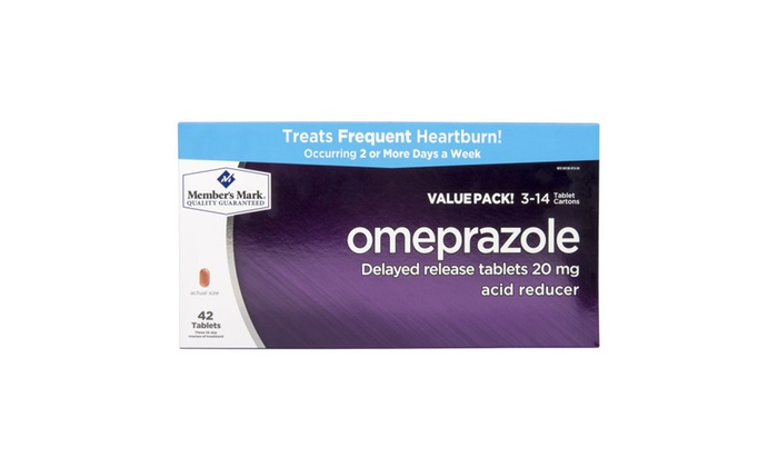 WheelnDeal: Omeprazole Acid Reducer (42 ct.) Delayed Release Tablets